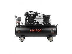 Компрессор воздушный 2-поршневой DNIPRO-M AC-100 VG (80980000)