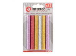 Комплект цветных перламутровых клеевых стержней INTERTOOL RT-1029