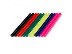 Комплект цветных клеевых стержней 7.4мм*100мм INTERTOOL RT-1031