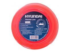 Леска для триммера Hyundai TL 15-1.6
