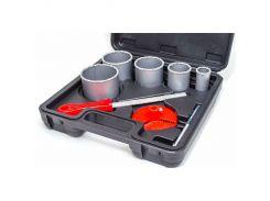 Набор корончатых сверл для плитки 5 ед INTERTOOL SD-0428
