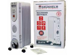 Масляный радиатор Grunhelm GR-0715 (80074)