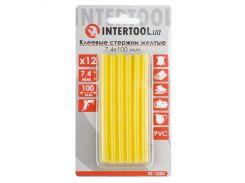 Комплект желтых клеевых стержней 7.4мм*100мм INTERTOOL RT-1050
