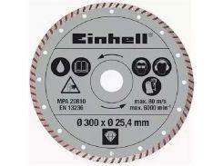 Диск алмазный отрезной Einhell 300x25,4 (4301178)