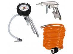 Набор для накачивания колес Einhell 3 предмета (4132741)