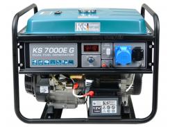 Бензиновый гибридный генератор Konner&Sohnen KS 7000E G