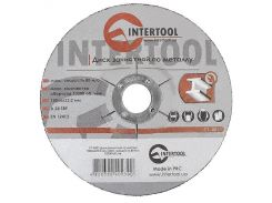 Диск зачистной по металлу INTERTOOL CT-4023