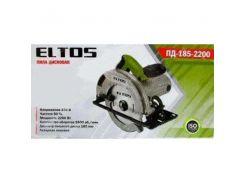 Пила дисковая циркулярная Eltos ПД-185-2200