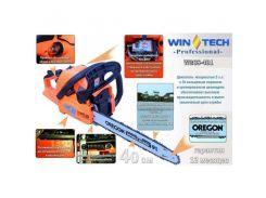 Бензопила цепная WinTech GWCS-401