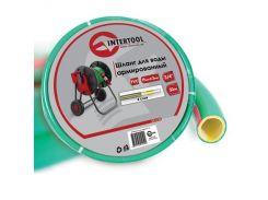 Шланг для воды армированный PVC INTERTOOL GE-4125