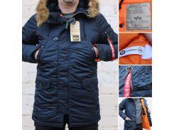 Мужская зимняя куртка парка Alpha Industries N-3B Slim-Fit Parka оригинал