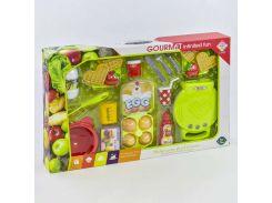 Вафельница BQ 804 A (12) с продуктами, свет, звук, в коробке