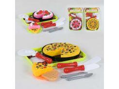 Игровой кулинарный набор с посудкой 552-1 А (96/2) 2 вида, в кульке