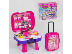"""Игровой набор """"Сладости"""" 36778-87 (36) с чемоданом, продукты на липучках, в коробке"""
