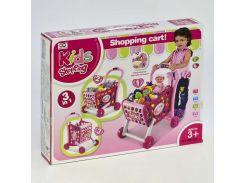 """Игровой набор 008-902 """"Супермаркет"""" (10) тележка с продуктами, играет мелодия, светится, в коробке"""