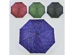 """Зонт складной С 36376 (60) система """"Автомат"""", 4 цвета, d=98см"""