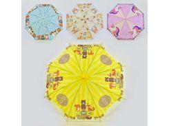 Зонтик детский С 36350 (60) 4 вида, d=80см