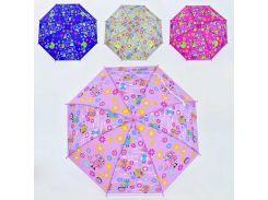Зонтик детский С 36358 (60) 4 вида, d=70см