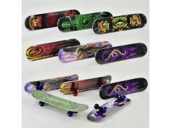 Скейт F 22224 (24) 8 видов, колесо d=5cm, PVC, длина доски =60см