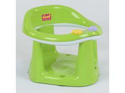 """гр Детское сиденье для купания на присосках BM-03606 GREEN (1) """"BIMBO"""" цвет САЛАТОВЫЙ, в коробке"""