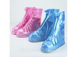 Дождевики для обуви, бахилы от дождя, чехлы на обувь от дождя L, XL,XXL