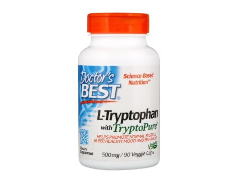 Триптофан (L-Tryptophan) 500 мг 90 капсул Киев