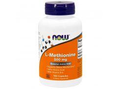 Метионин с витамином В6 (L-Methionine) 500/ 10 мг 100 капсул