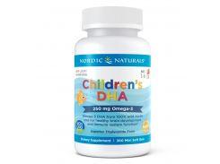 Рыбий жир для детей (Children's DHA) со вкусом клубники, 360 капсул