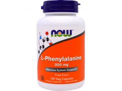 Фенилаланин (L-Phenylalanine) 500 мг 120 капсул