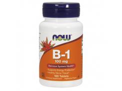 Витамин B1 (Тиамин, Vitamin B1) 100 мг 100 таблеток