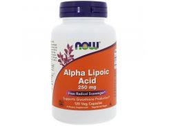 Альфа-липоевая кислота (Alpha-lipoic acid) 250 мг 120 капсул