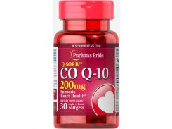 Коэнзим Q-10 (Q-SORB Co Q-10) 200 мг 30 капсул