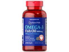 Рыбий жир Омега-3 (Omega-3 Fish Oil) 1000 мг (300 мг активного Омега-3) 250 капсул