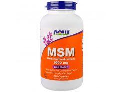 МСМ метилсульфонилметан (MSM) препарат серы 1000 мг 240 капсул