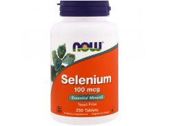 Селен без дрожжей (Selenium), 100 мкг, 250 таблеток