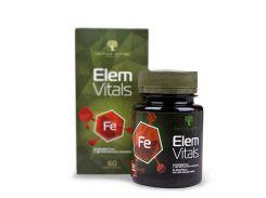 Элемвитал с органическим железом (Elem Vitals) 60 капсул
