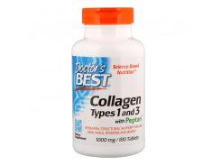 Коллаген 1 и 3 типа (Collagen types 1&3), 1000 мг, 180 таблеток