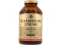 Масло льняное (flaxseed oil) 1250 мг 250 капсул