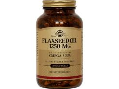 Масло льняное (flaxseed oil) 1250 мг 100 капсул