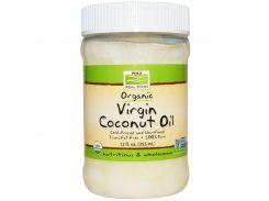 Органическое натуральное кокосовое масло, 355 мл.