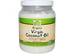 Органическое натуральное кокосовое масло, 1600 мл.