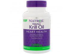 Масло криля, Odorless Krill Oil, 1000 мг, 30 капсул