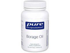 Масло Огуречника, Borage Oil,  60 капсул