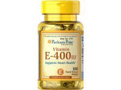 Витамин Е Vitamin E 400 МЕ 100 гелевых капсул