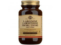 Aргинин орнитин (L-Arginine L-Ornithine) 500 мг/250 мг 50 капсул