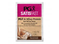 PGX Satisfast сывороточный протеин шоколадный (whey protein chocolate) 18 г порошок
