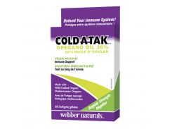 Cold-A-Tak® Масло Орегано 36% (Oregano Oil) 110 мг 60 капсул