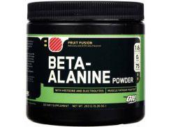 Аминокислота Бета Аланин с фруктовым вкусом (ON Beta Alanine Fruit FusiPowder) 263 г