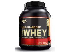 Сывороточный протеин изолят (100% Whey Gold Standard) со вкусом клубника-банан 2270 г
