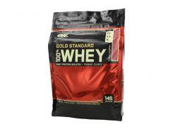 Сывороточный протеин изолят (100% Whey Gold Standard) со вкусом клубники 4.54 кг